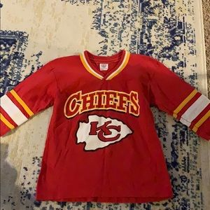 Kansas City Chiefs boys shirt size 8